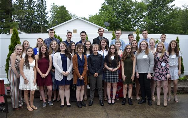 Group of top Sullivan County students
