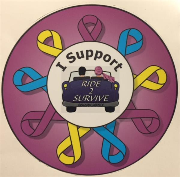 Sticker for Ride to Survive