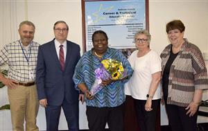 Regent Josephine Finn honored by the Sullivan BOCES Board of Education