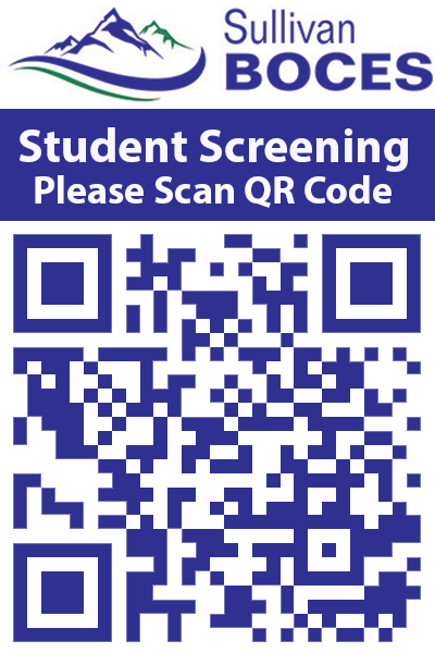 QR Code for the Student COVID-19 Building Entrance Screening Questionnaire