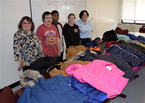 Sullivan Correctional Facility Donates New Coats and Hats