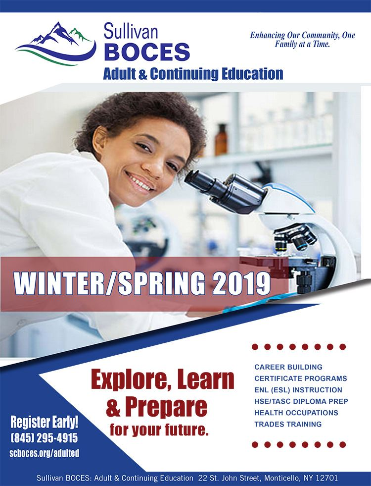Winter Spring Course Catalog Cover