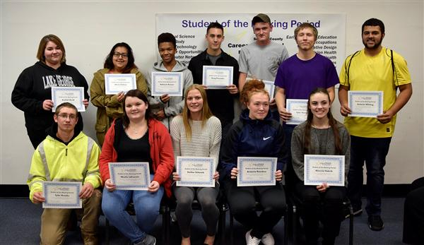 1st Marking Period Honorees